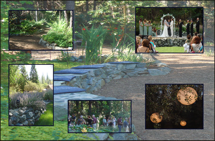 collage of photos of the Roth Estate Grounds